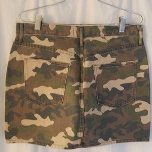 GAP Skirts - GAP camo denim mini-skirt